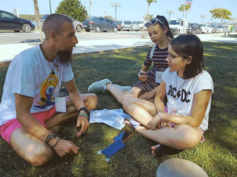 Radionica joge: 'Djeca žive u sadašnjem trenutku lakše od odraslih'